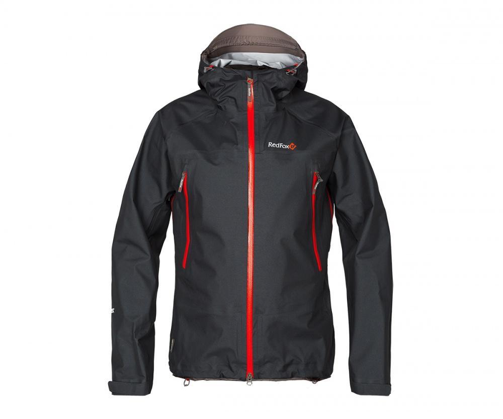 Куртка ветрозащитная Vector GTX III МужскаяКуртки<br><br> Классическая штормовая куртка, выполненная из материала GORE-TEX®3L. Надежно защищает от дождя иветра, не стесняет движений, удобна для путешествийи активного отдыха.<br><br> Основные характеристики<br><br>эргономичный капюшон с регулиро...<br><br>Цвет: Черный<br>Размер: 58