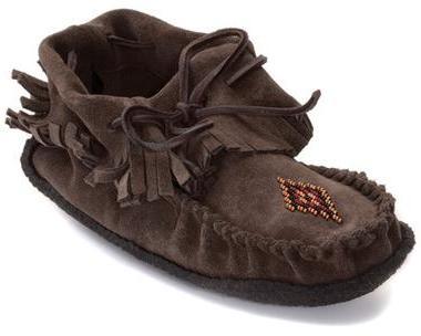 Мокаксины Trapper Moccasin женскМокасины<br>На языке канадских аборигенов слово «мокасины» означает «обувь» или «тапочки». Предки современных жителей Канады – метисы – вручную шили мокасины, чтобы носить их на улице летом. Сегодня компания Manitobah продолжает эти традиции, сочетая национальные ...<br><br>Цвет: Коричневый<br>Размер: 9