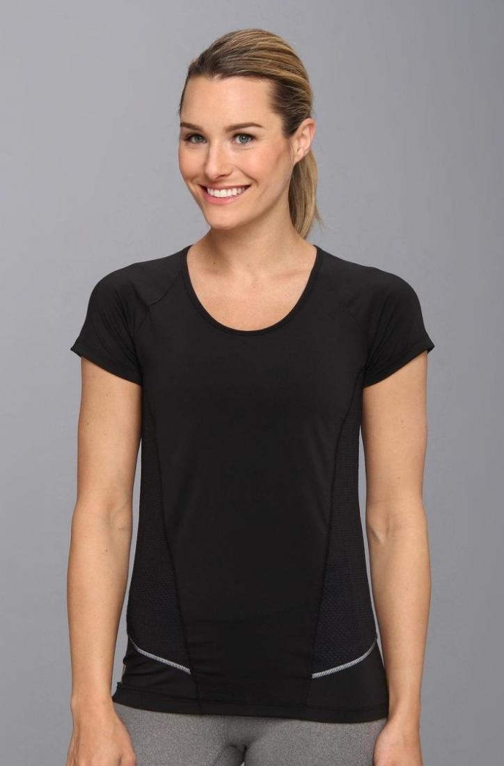 Топ LSW0920 MARATHON TOPФутболки, поло<br><br> Женская футболка Marathon Top LSW0920 от бренда Lole оснащена эластичными сетчатыми вставками по бокам и на спине, которые обеспечивают необходим...<br><br>Цвет: Черный<br>Размер: M