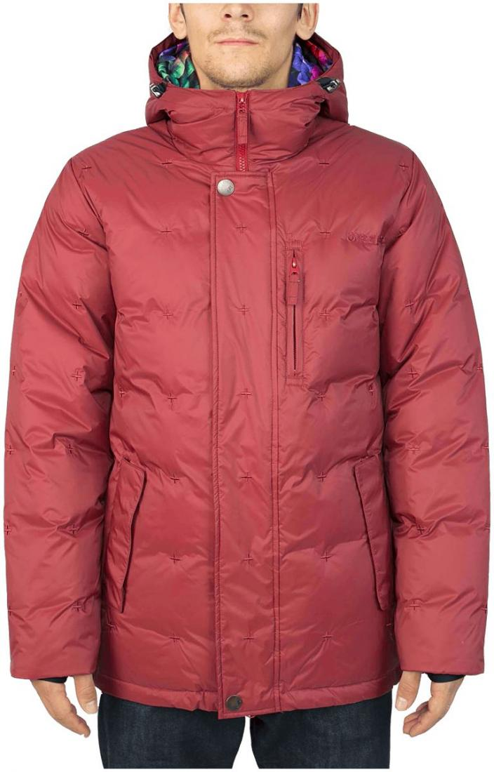 Куртка пуховая GrizzlyКуртки<br><br><br>Цвет: Бордовый<br>Размер: 48