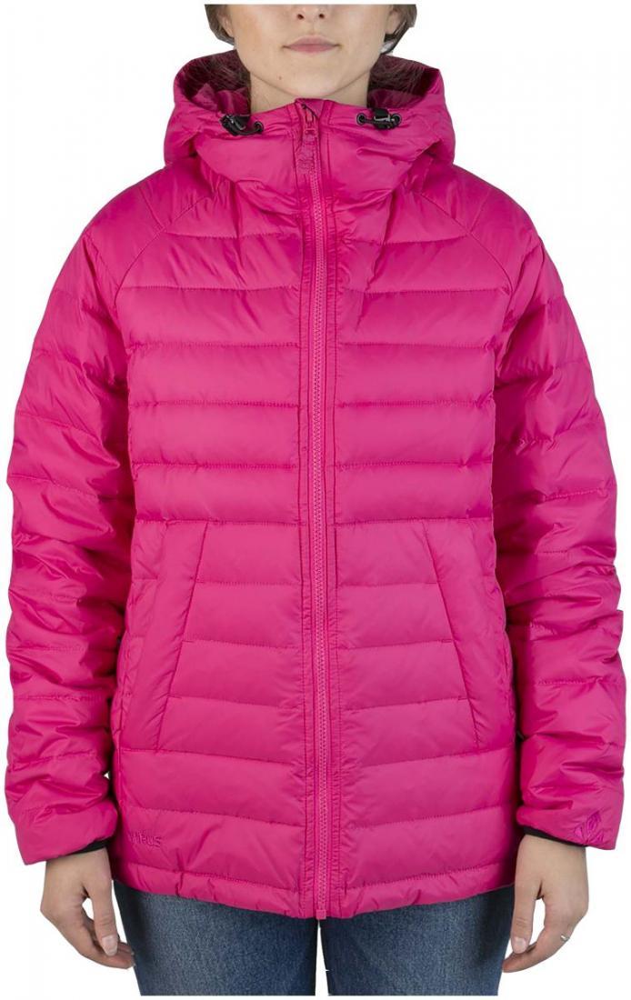 Куртка пуховая Chord WКуртки<br><br>Пуховая кенгуру? Почему бы и нет! легкий. Выполнен из тонкой ткани с водоотталкивающей обработкой DWR. Куртка отлично сидит по фигуре.<br><br>...<br><br>Цвет: Розовый<br>Размер: 48