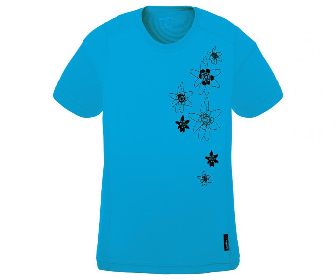 Футболка Flower TФутболки, поло<br><br>Материал – Quick Dry Polyester, UV-CUT, Odor resistant.<br>Размерный ряд – 42-52.<br><br><br>Цвет: Голубой<br>Размер: 44