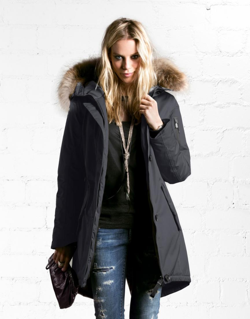 Куртка утепленная с мехом жен.Montana llКуртки<br>Оригинальный дизайн и практичные материалы куртки Montana II бренда G-LAB, позволят вам выглядеть и чувствовать себя хорошо и комфортно в любую ...<br><br>Цвет: Темно-синий<br>Размер: S