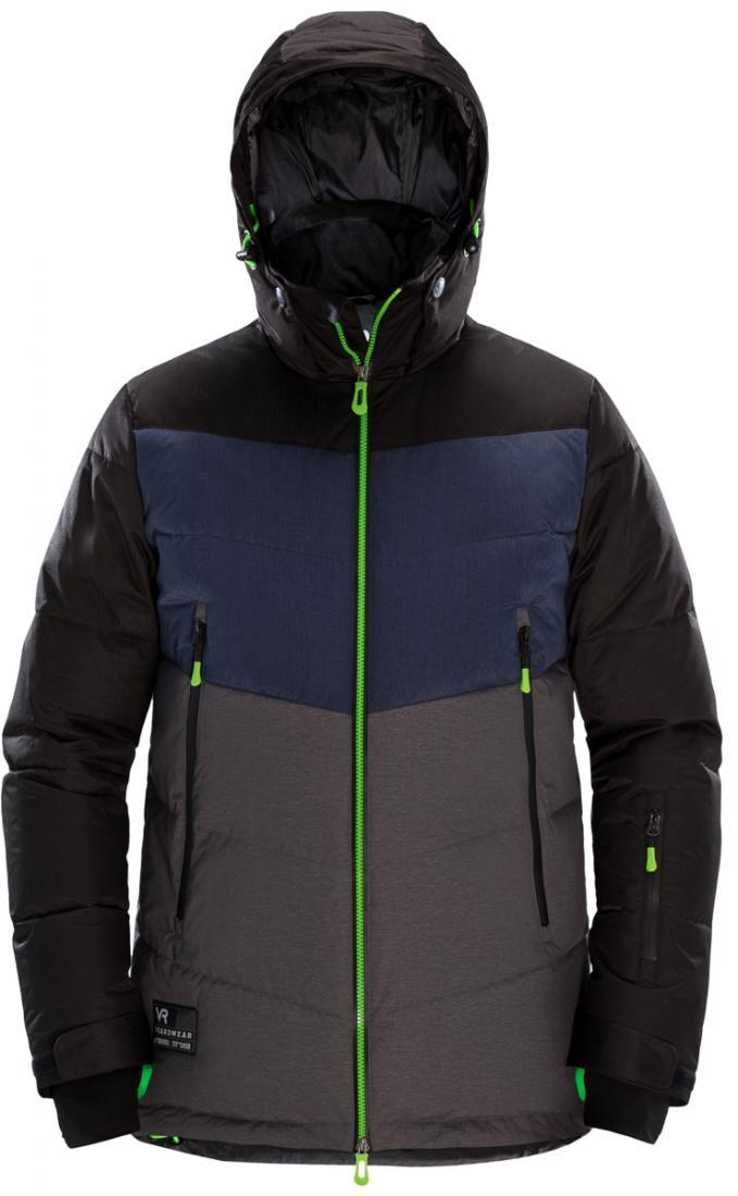 Куртка пуховая BERSERKПуховики<br>Модель пуховой куртки Berserk специально сконструирована трехцветной, для возможности большего многообразия цветовых сочетаний со штанами...<br><br>Цвет: Темно-серый<br>Размер: S