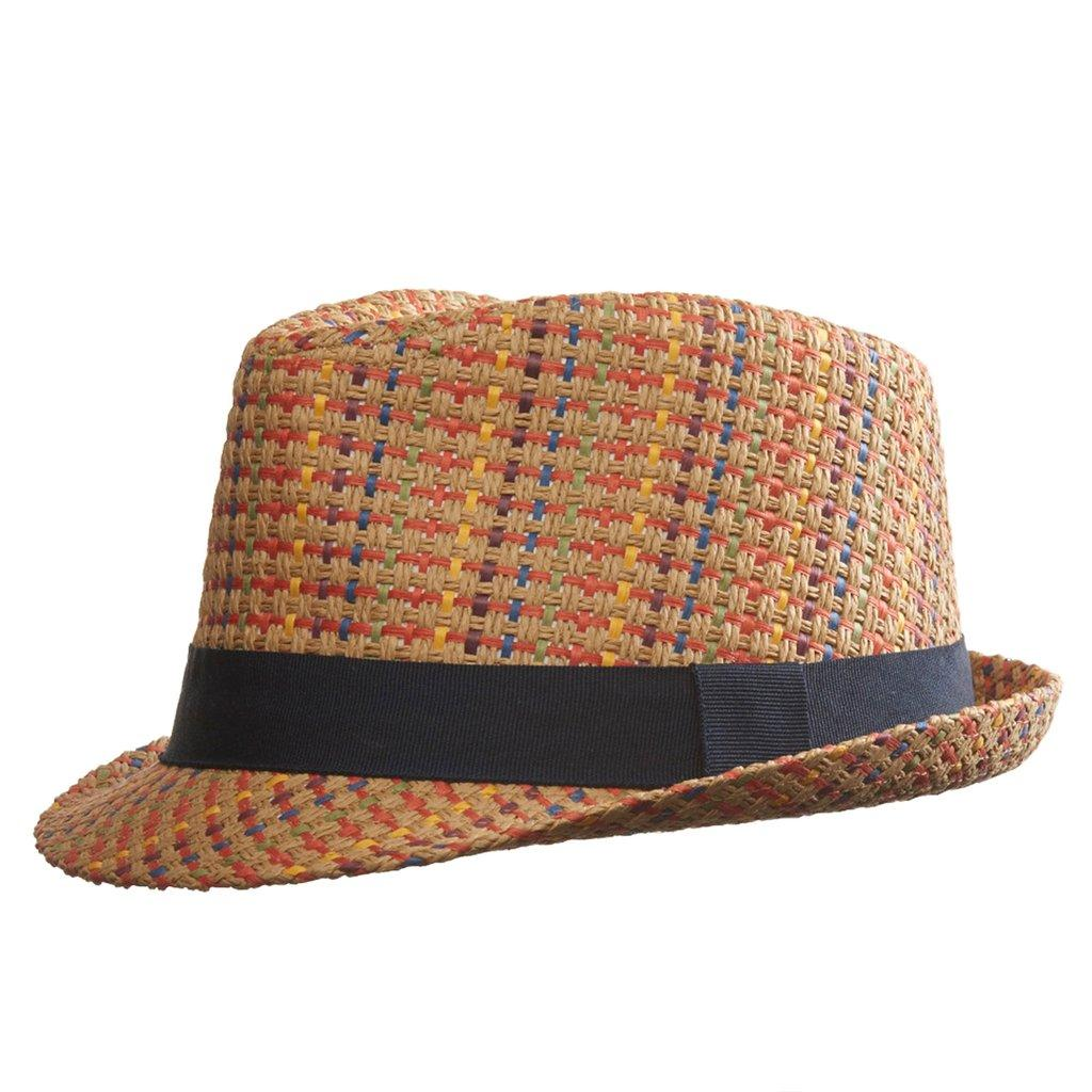 Шляпа/Панама MADDEN муж.Панамы<br>Состав: 100% солома<br><br>Цвет: Коричневый<br>Размер: L/XL