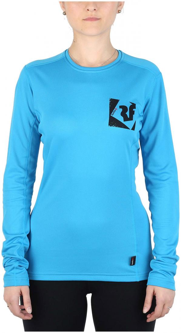 Футболка Trek T LS ЖенскаяФутболки, поло<br><br> Легкая и функциональная футболка, выполненная из влагоотводящего и быстросохнущего материала.<br><br><br>основное назначение: Горные походы, треккинг,туризм<br>свободный крой<br>комфортный вырез горловины округлой формы...<br><br>Цвет: Голубой<br>Размер: 50