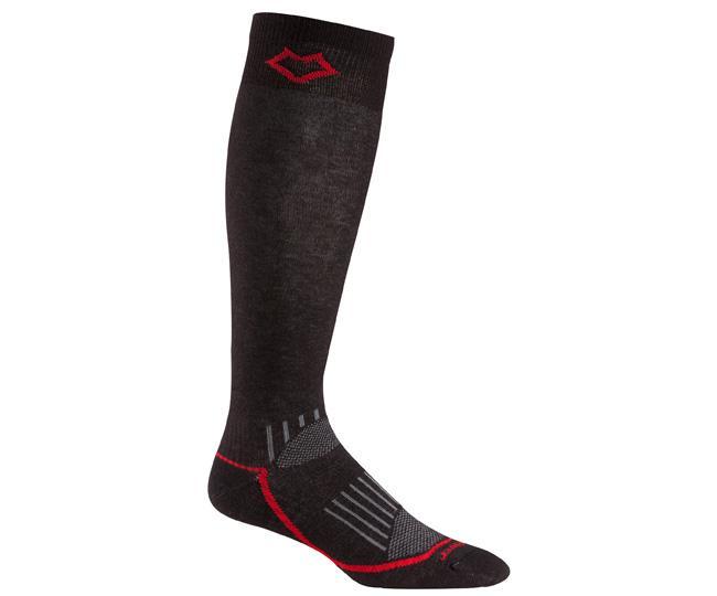 Носки лыжные 5020 VailНоски<br><br> Эти очень тонкие носки создают ощущение «босой ноги» и обладают идеальной посадкой. Благодаря уникальной системе переплетения волокон Wick Dry® и использованию Eco волокон, влага быстро испаряется с поверхности кожи, сохраняя ноги в комфорте.<br>...<br><br>Цвет: Черный<br>Размер: L
