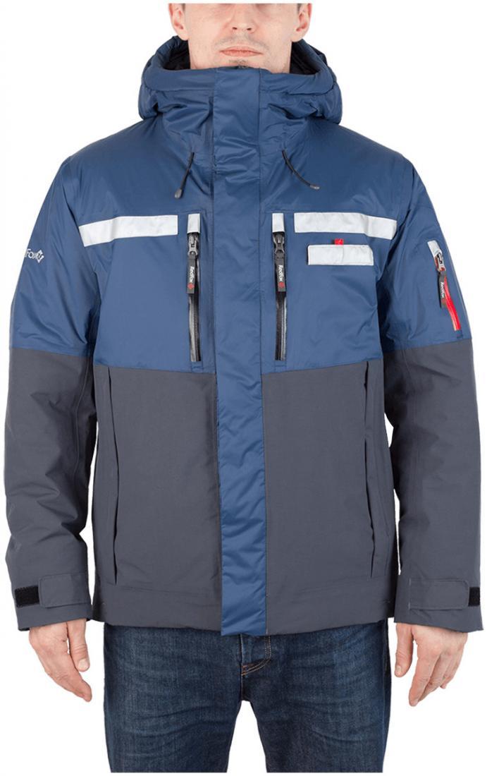 Куртка утепленная HuskyКуртки<br><br><br>Цвет: Синий<br>Размер: 56