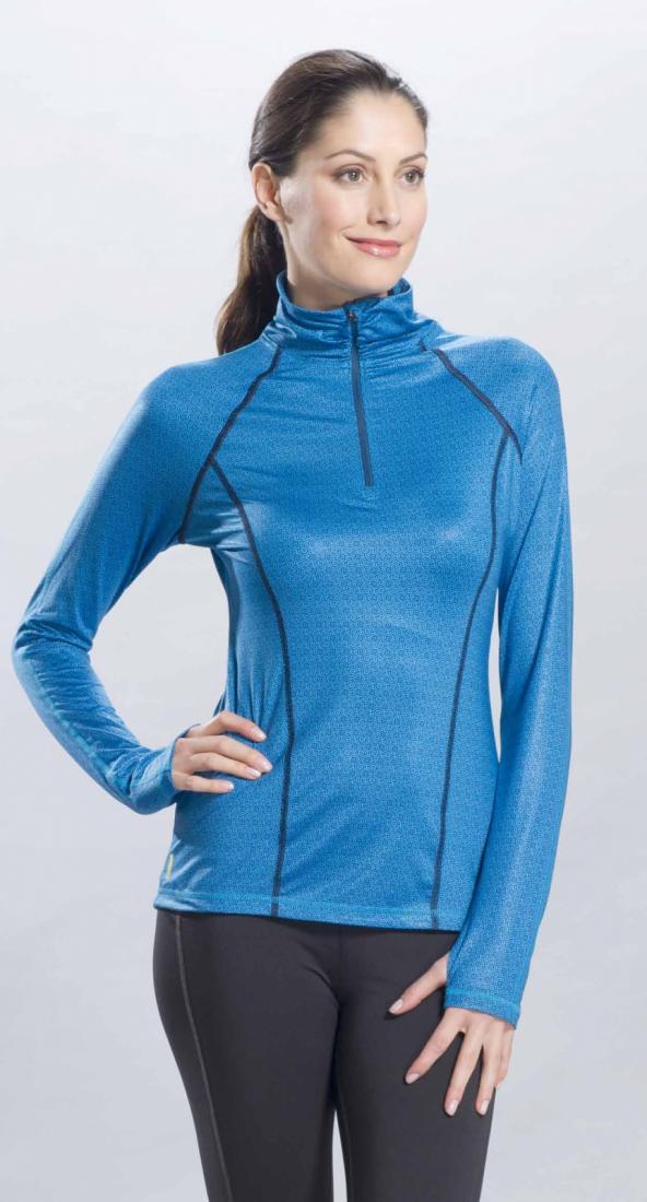 Топ LSW0757 SHINING TOPФутболки, поло<br><br> Пуловер Shining рассчитан на интенсивные тренировки при невысоких температурах. Его материал Printed Lush обладает способностью растягиваться...<br><br>Цвет: Голубой<br>Размер: XS