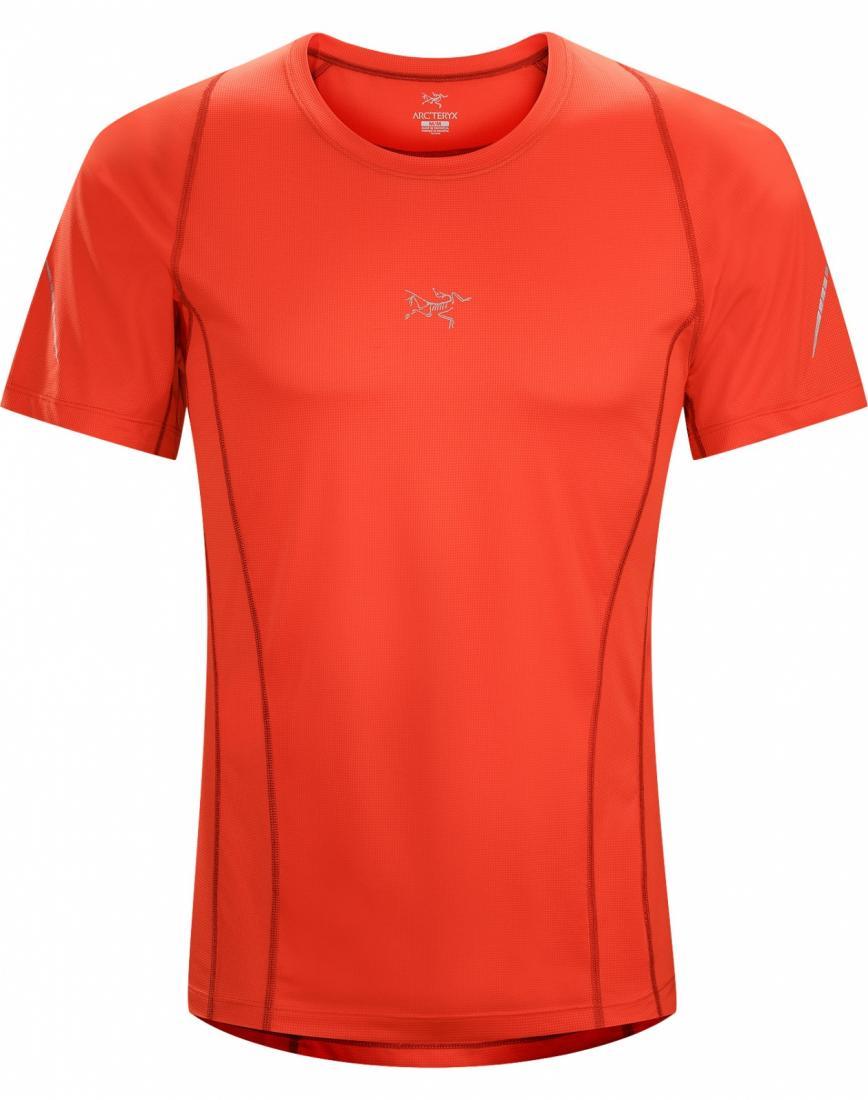 Футболка Sarix SS муж.Футболки, поло<br><br>ДИЗАЙН: Ультралегкая футболка с короткими рукавами, из высококачественной сетчатой ткани, для быстрого бега.<br><br><br>НАЗНАЧЕНИЕ: Трейл-р...<br><br>Цвет: Красный<br>Размер: L