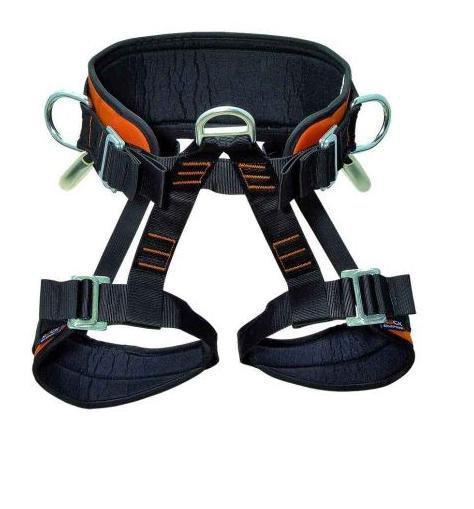 Обвязки промальп Skill BeltОбвязки, беседки<br>Нижняя обвязка для удержания при срыве, предназначенная для промышленного альпинизма. Регулируемые пояс и ремни для ног с объемной набивкой. Легкие пряжки для быстрого и удобного одевания и регулировки обвязки. 2 петли для снаряжения. Подходит для пози...<br><br>Цвет: Черный<br>Размер: L-XXL