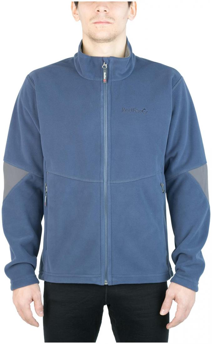 Куртка Defender III МужскаяКуртки<br><br> Стильная и надежна куртка для защиты от холода и ветра при занятиях спортом, активном отдыхе и любых видах путешествий. Обеспечивает свободу движений, тепло и комфорт, может использоваться в качестве наружного слоя в холодную и ветреную погоду.<br>&lt;/...<br><br>Цвет: Синий<br>Размер: 56