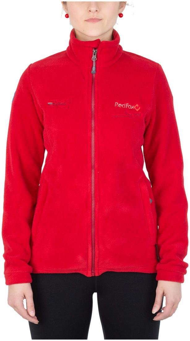 Куртка Peak III ЖенскаяКуртки<br><br> Эргономичная куртка из материала Polartec® 200. Обладает высокими теплоизолирующими и дышащими<br> свойствами, идеальна в качестве среднего утепляющегослоя.<br><br> Основные характеристики<br><br>воротник – стойка<br>анатомичес...<br><br>Цвет: Темно-красный<br>Размер: 52