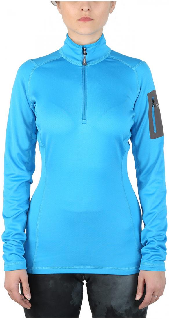 Пуловер Z-Dry ЖенскийПуловеры<br>Спортивный пуловер, выполненный из эластичного материала с высокими влагоотводящими характеристиками. Идеален в качестве зимнего термобелья или среднего утепляющего слоя.<br> <br> <br><br>Материал: 94% Polyester, 6% Spandex, 290g/sqm.<br> &lt;...<br><br>Цвет: Синий<br>Размер: 46