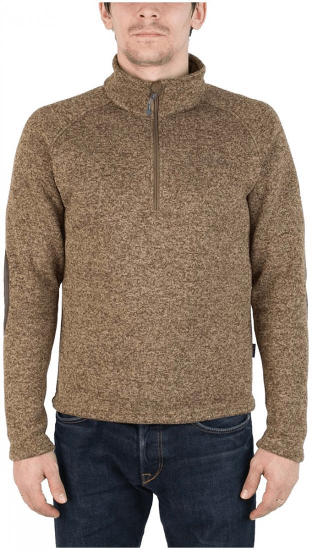 Свитер AniakСвитеры<br><br> Комфортный и практичный свитер для холодного времени года, выполненный из флисового материала с эффектом «sweater look».<br><br><br> Основные характеристики:<br><br><br>воротник стойка<br>рукав реглан для удобства движений...<br><br>Цвет: Хаки<br>Размер: 46