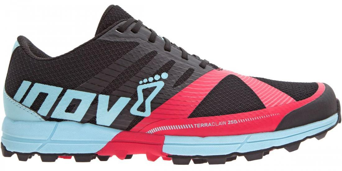 Inov-8 Кроссовки Terraclaw 250 жен. (5.5, Black/Berry/Blue, ,) inov 8 питьевая система 2l reservoir clear black
