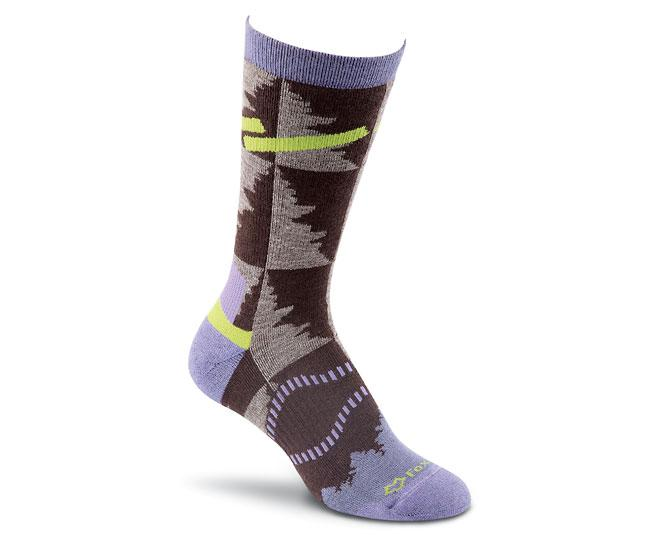 Носки турист. 2535 Cypress Crew жен.Носки<br>Эти носки средней толщины подходят для любых приключений. Они изготовлены из устойчивых волокон TENCEL® и мериносовой шерсти, благодаря чем...<br><br>Цвет: Коричневый<br>Размер: M