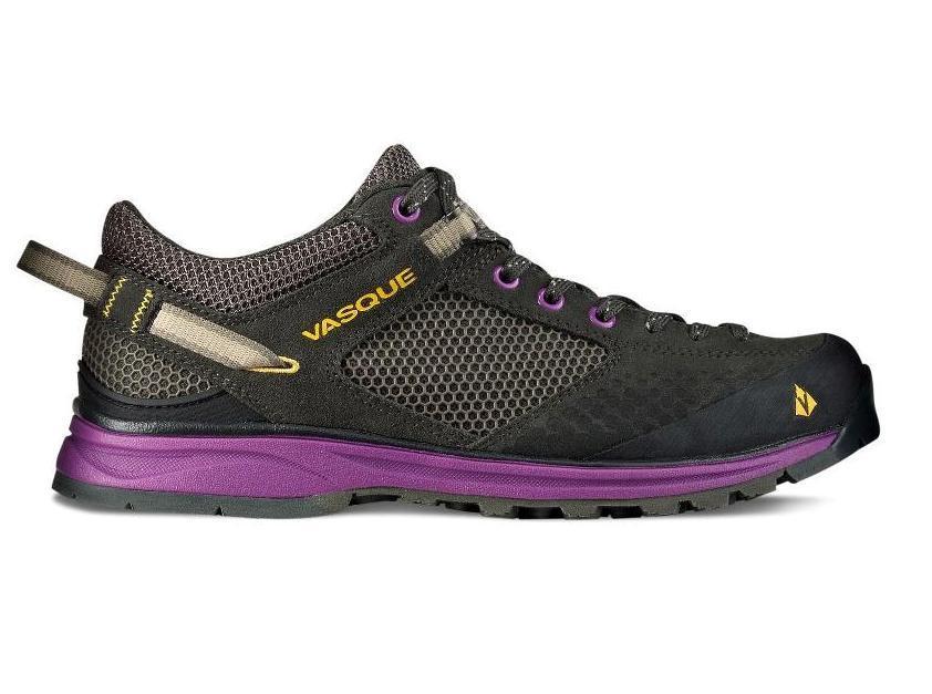 Ботинки жен. 7321 Grand TraverseХайкинговые<br><br> Кто сказал, что только мужчины любят приключения? Компания Vasque создала специальные спортивные ботинки для отважных женщин, которые любят преодолевать себя и доказывать всему миру, что вкус победы и покорение вершин любят все, вне зависимости от ...<br><br>Цвет: Темно-фиолетовый<br>Размер: 9.5
