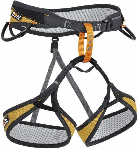 Обвязки спортивные SirionОбвязки, беседки<br>• уникальная анатомическая форма ремней для ног<br>• 4 петли для снаряжения<br>• петли для снаряжения грузоподъемностью 5 кг<br>• 3D набивка<br>CE 1019, EN 12277<br><br>Описание:<br><br>Очень легкая нижняя обвязка, специально разработанная для спортивного скалолазания.<br>...<br><br>Цвет: Желтый<br>Размер: L