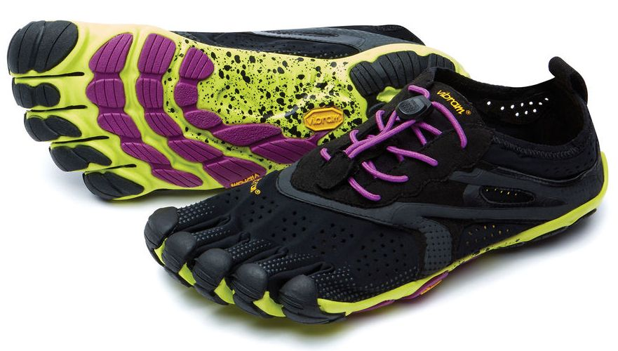 VIBRAM Мокасины FIVEFINGERS V-RUN W (41, 7005 Желтый, , ,) vibram мокасины fivefingers v run m 47 3101 черный желтый