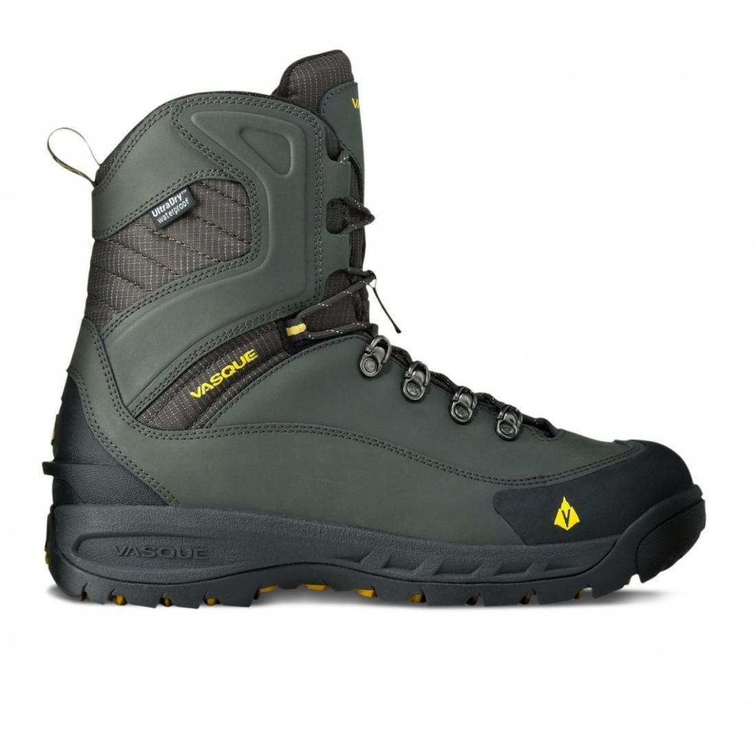 Ботинки 7804 Snowburban UDТреккинговые<br>Ботинки, разработанные для использования в условиях холодных температур, но обладающие техничной посадкой и чувствительностью альпинистских туристических ботинок. Утепление стало в два раза больше, добавлена флисовая подкладка на голенище и обновлена п...<br><br>Цвет: Серый<br>Размер: 9.5
