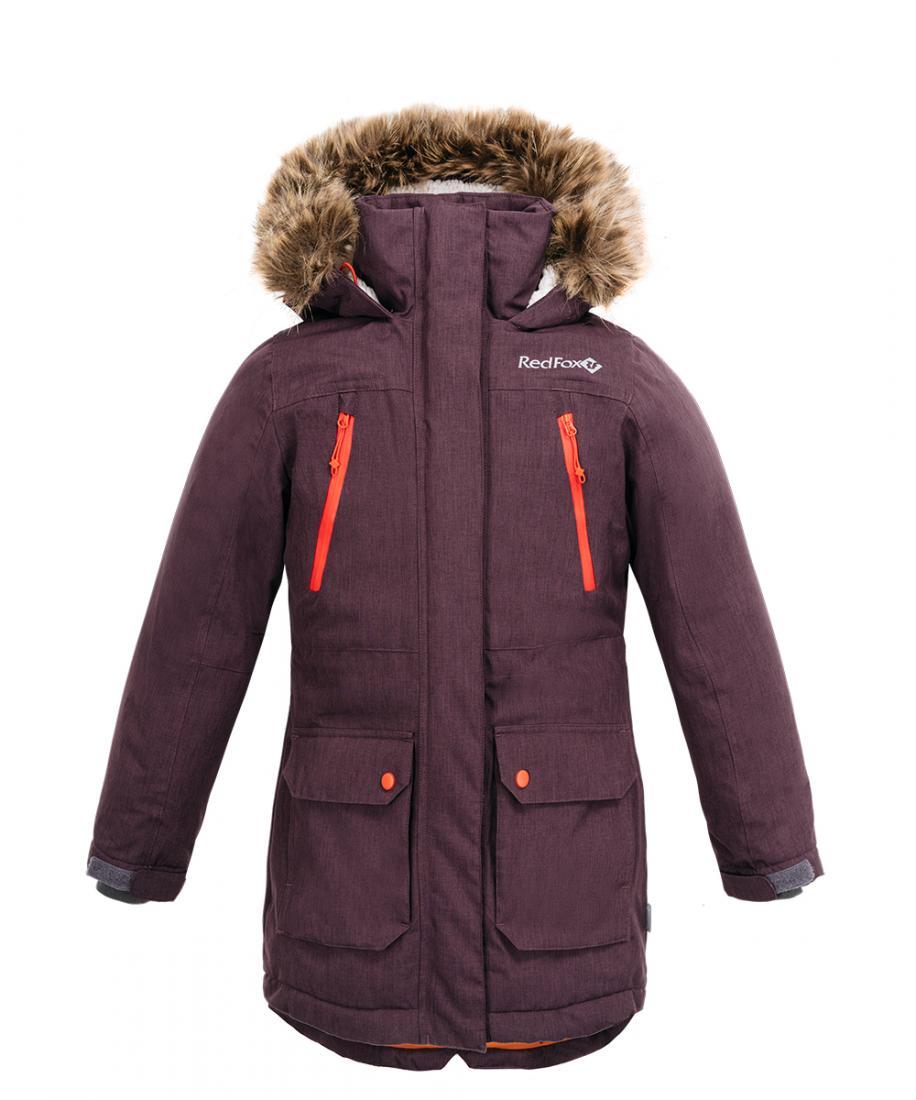 Куртка утепленная Dakota Girl ДетскаяКуртки<br>Стильная и комфортная зимняя куртка для мальчиков. Капюшон c опушкой из искуственного меха и регулировками по объему и глубине. Регулируемые манжеты на рукавах, снегозащитная юбка, регулировка по поясу и низу<br>куртки надежно защищают в холодную погоду ...<br><br>Цвет: Фиолетовый<br>Размер: 152