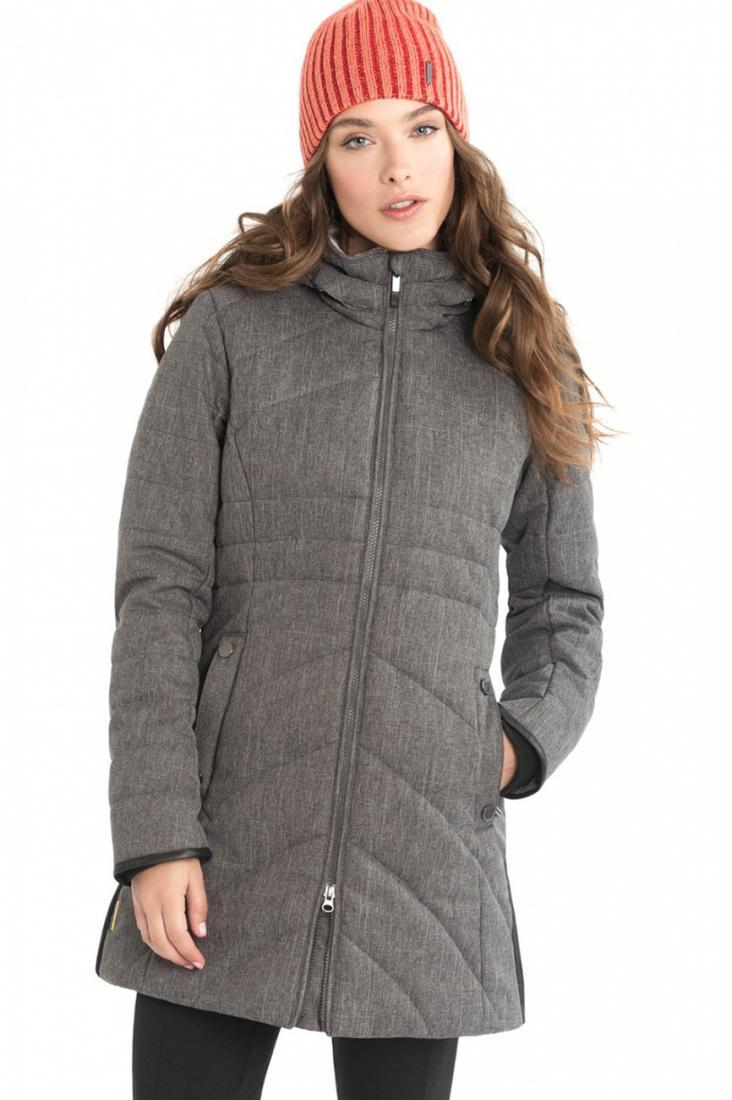 Куртка LUW0306 ZOA JACKETКуртки<br><br> Изящное утепленное пальто Zoa стеганного дизайна создано для ощущения полного комфорта в холодную погоду. Модель выполнена из влаго- и в...<br><br>Цвет: Темно-серый<br>Размер: M