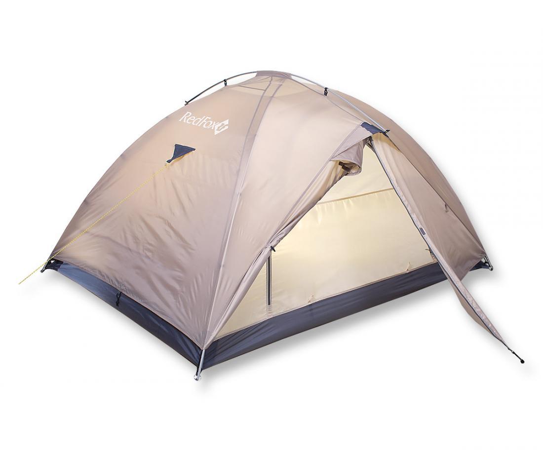 Палатка Challenger 3Палатки<br><br> Комфортная палатка для активного отдыха и туризма. Модель легко устанавливается одним человеком, обладает исключительно прочным каркасом. В жаркое время возможно установить внутреннюю палатку отдельно. В модели продуманы два входа и два вместительн...<br><br>Цвет: Бежевый<br>Размер: None
