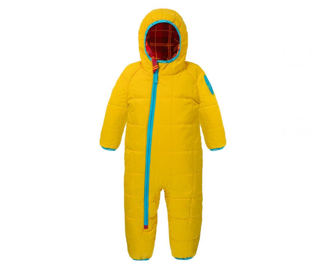 Комбинезон утепленный Baby Fox ДетскийКомбинезоны<br>Мягкий,  легкий  и  теплый  двусторонний  комбинезон для  малышей,  который  можно  носить  как  одной,  так  и другой  стороной.  Отворачивающиеся  края  на  рукавах, ветрозащитная  планка  и  капюшон  согреют  ребенка  даже в самую ненастную погоду, ...<br><br>Цвет: Желтый<br>Размер: 74