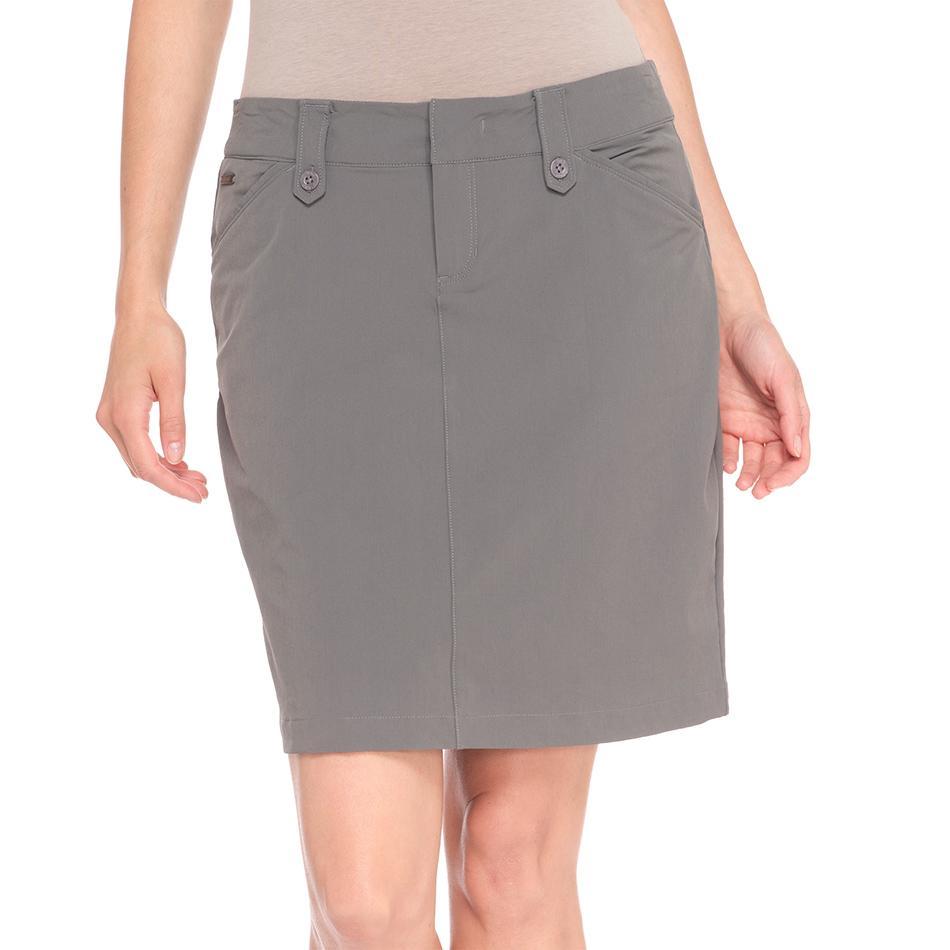 Юбка LSW1301 MILAN SKIRTЮбки<br><br> Элегантная юбка LSW1301 Lole Milan Skirt это невероятно удобный вариант для прогулок и путешествий. Благодаря классическому лаконичному дизайну она отлично сочетается с разными блузками и кофтам...<br><br>Цвет: Серый<br>Размер: 4