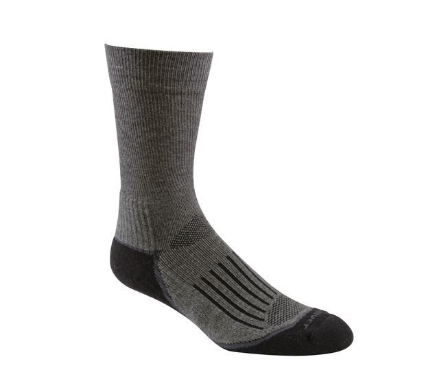 Носки турист.2456 TRAIL CREWНоски<br><br> Тонкие носки с идеальной посадкой. Благодаря уникальной системе переплетения волокон wick dry®, влага быстро испаряется с поверхности кожи, сохраняя ноги в комфорте.<br><br><br>Система URfit™<br>Специальные вентилируемые вставки эффе...<br><br>Цвет: Темно-серый<br>Размер: L