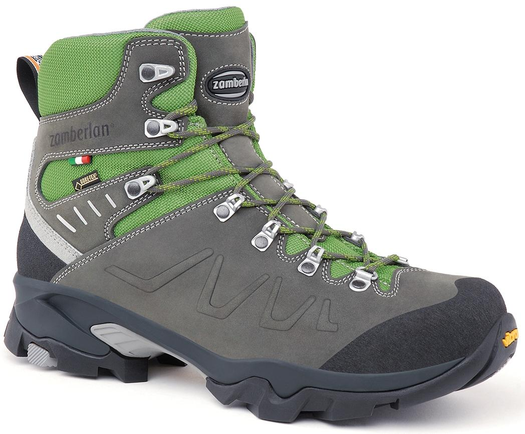 Фото - Ботинки 982 QUASAR GTX от Zamberlan Ботинки 982 QUASAR GTX (41, Grey/Acid Green, , ,)