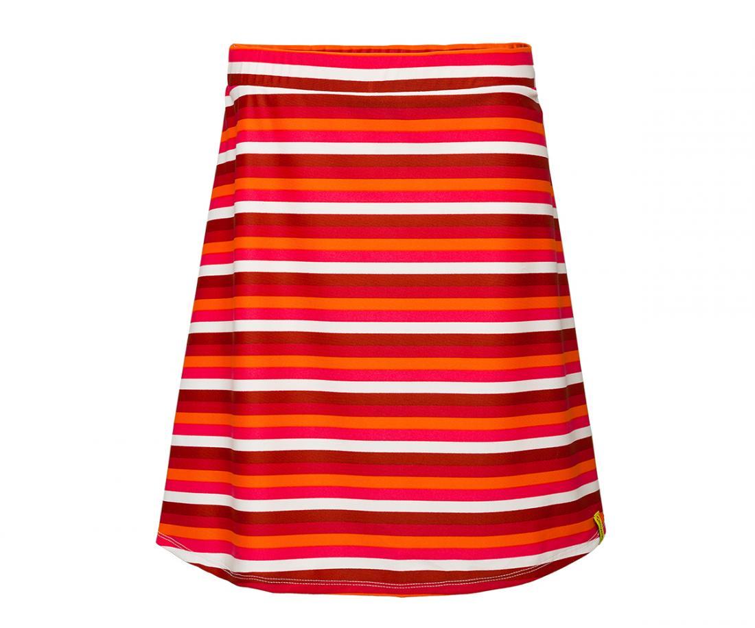 Юбка Sole ДетскаяПлатья, юбки<br>Яркая расцветка будет создавать солнечное настроение на целый день. Удобный крой солнце-клеш позволяет двигаться свободно и легко. Благодаря функциональным особенностям ткани юбка Sole хорошо тянется, быстро сохнет и не мнется.<br><br>Цвет: Красный<br>Размер: 152