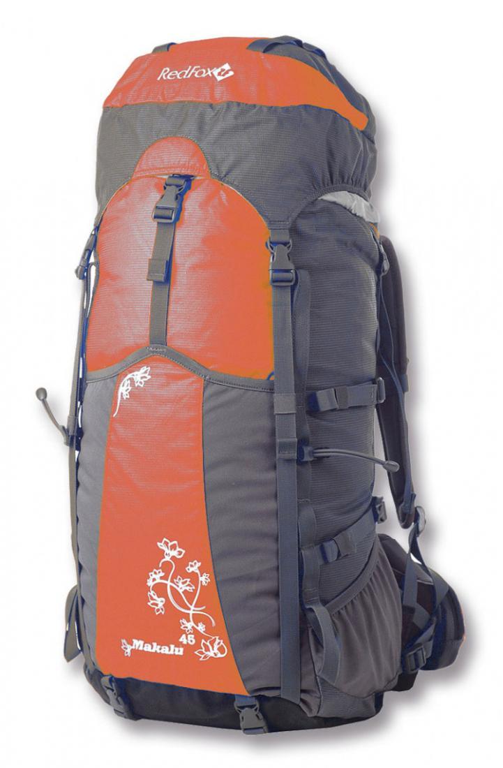 Рюкзак Makalu 45 WLРюкзаки<br><br><br>Цвет: Оранжевый<br>Размер: 45 л