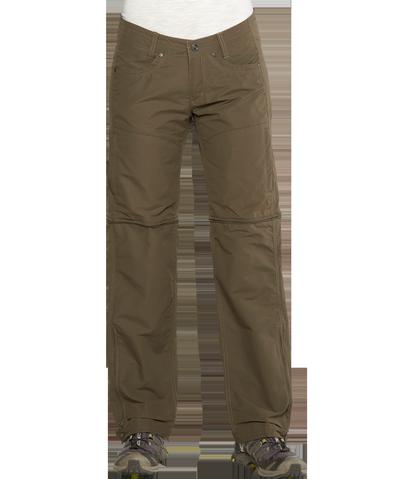 Брюки Ws Liberator ConvertibleБрюки, штаны<br>Легкие женские брюки анатомического кроя из быстросохнущей ткани. Просто трансформируются в шорты.<br><br> <br><br><br>Состав: 23% хлопок, 7...<br><br>Цвет: Коричневый<br>Размер: 4-34