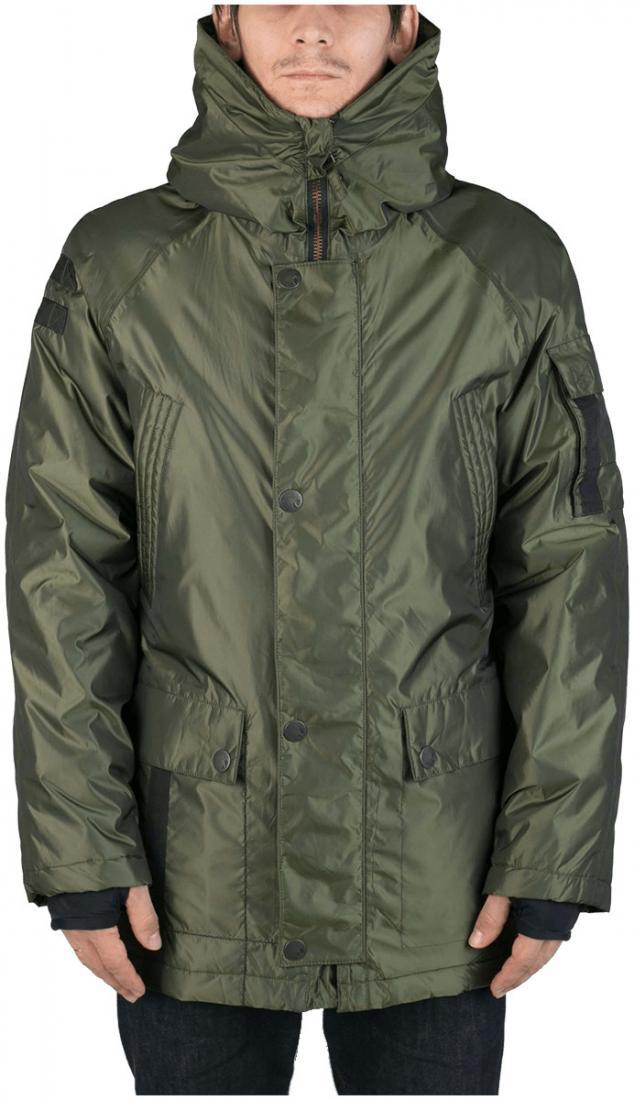 Куртка утепленная Tundra MКуртки<br><br><br>Цвет: Зеленый<br>Размер: 48