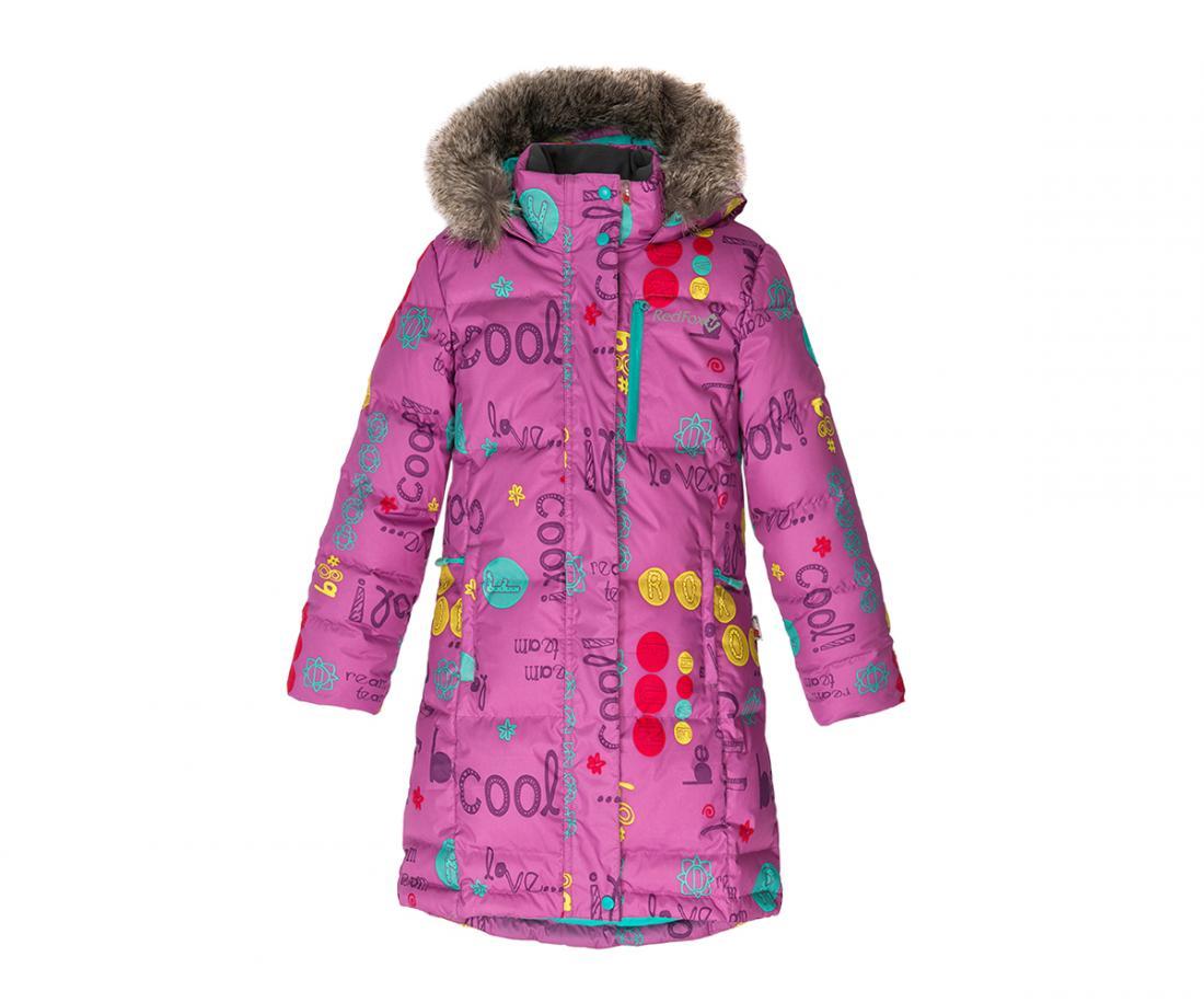 Пальто пуховое Jane II ДетскоеПальто<br><br><br>Цвет: Фиолетовый<br>Размер: 128