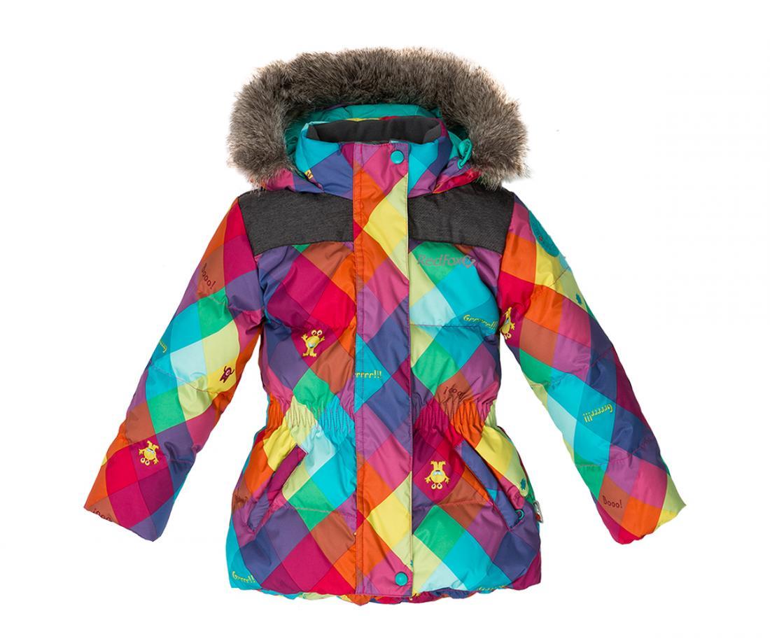 Куртка пуховая Nikki II ДетскаяКуртки<br>Пуховая куртка приталенного силуэта соригинальной отделкой. Капюшон со съемноймеховой опушкой и регулировкой по объемуобеспечивает и...<br><br>Цвет: Фиолетовый<br>Размер: 92