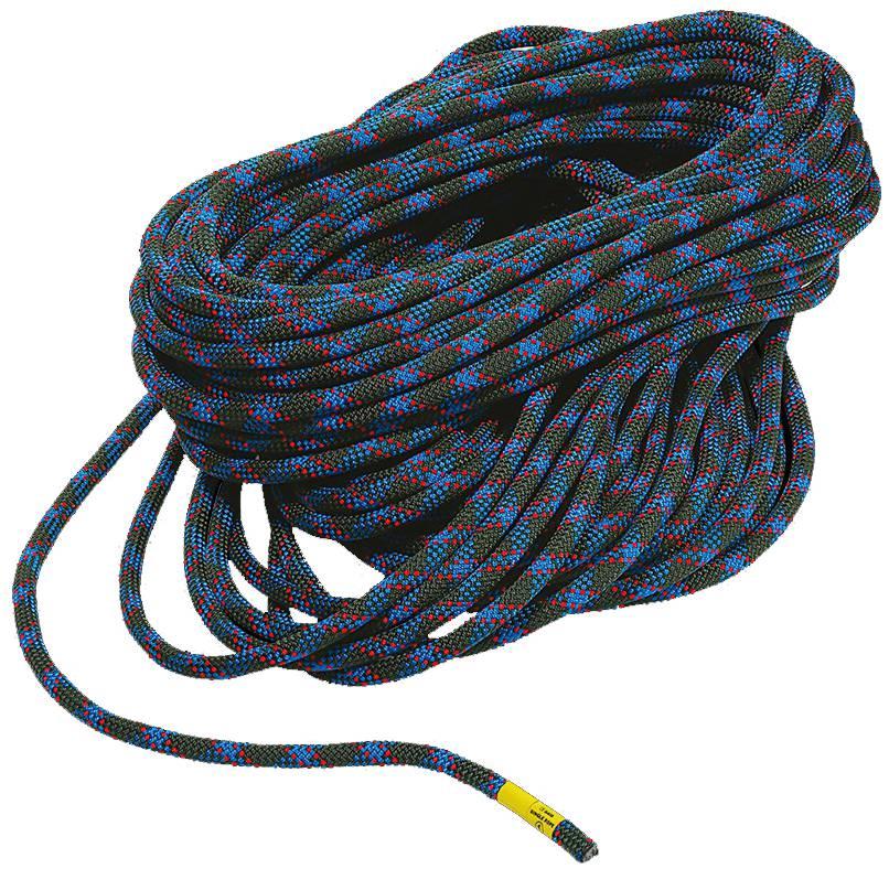 Веревка TANGO 9.8 WRВеревки, стропы, репшнуры<br>Прекрасный выбор для тех, кто хочет использовать только одну веревку. Веревка имеет лучший стандартный диаметр и обладает особой прочностью. Подходит для всех видов лазания.<br><br>Диаметр: 9,8 мм<br>Вес: 64 г/м<br>Длина: 50, 60, ...<br><br>Цвет: Синий<br>Размер: 80