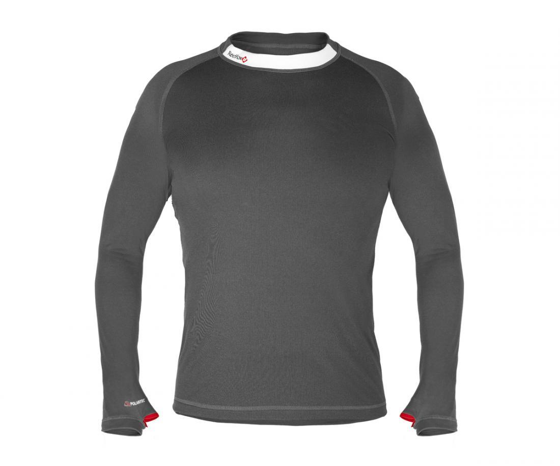 Red Fox Термобелье футболка с длинным рукавом Classic Dry II Мужская (48, 2000/асфальт, , , SS17)
