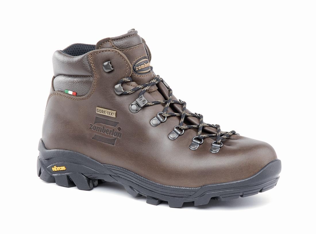 Ботинки 309 NEW TRAIL LITE GTТреккинговые<br>Универсальные ботинки для туризма на смешанном рельефе и в смешанных погодных условиях. Вырез и набивка раструба обеспечивают непревзойденное ощущение комфорта. Уникальная цельнокроеная конструкция верха из крупнозернистой кожи с подкладкой из GORE-TEX...<br><br>Цвет: Коричневый<br>Размер: 42