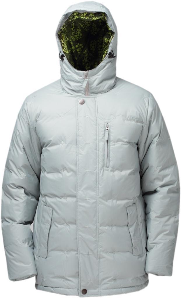 Куртка пуховая GrizzlyКуртки<br><br><br>Цвет: Серый<br>Размер: 52