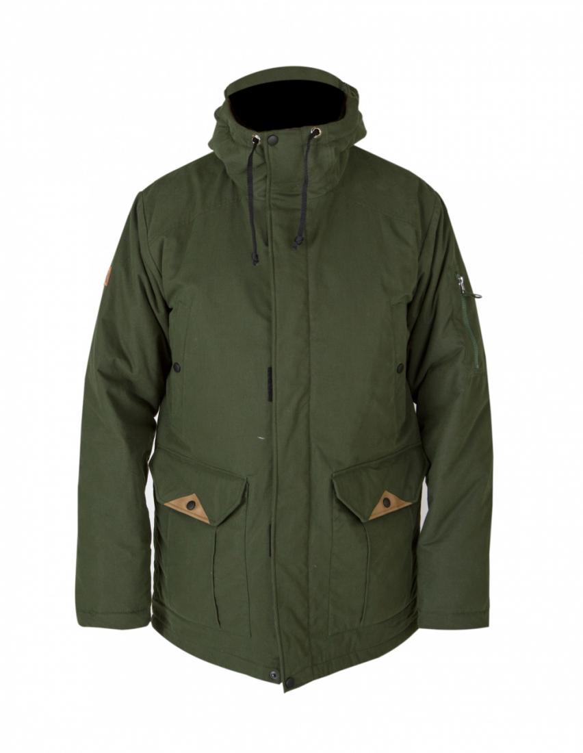Куртка утепленная PARKAКуртки<br>Мужская удлиненная куртка Parka навеяна, некогда популярной моделью курток типа аляска. Создавая дизайн, мы переняли лучшее у этой модели: объемный, сохраняющий тепло капюшон  и удлиненный силуэт. В итоге получилась стильная парка, которая будет надежно...<br><br>Цвет: Черный<br>Размер: 58-60