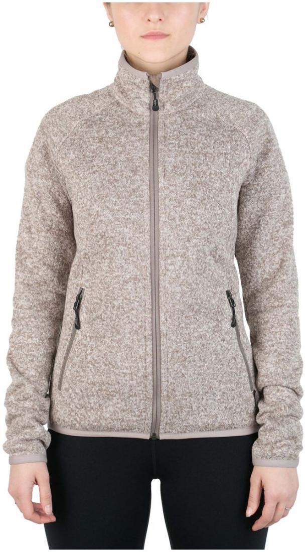 Куртка Tweed III ЖенскаяКуртки<br><br><br>Цвет: Бежевый<br>Размер: 48