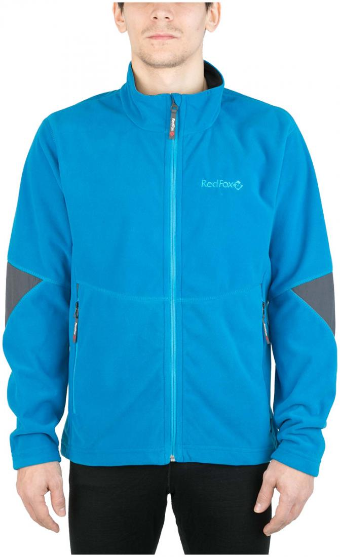 Куртка Defender III МужскаяКуртки<br><br> Стильная и надежна куртка для защиты от холода и ветра при занятиях спортом, активном отдыхе и любых видах путешествий. Обеспечивает свободу движений, тепло и комфорт, может использоваться в качестве наружного слоя в холодную и ветреную погоду.<br>&lt;/...<br><br>Цвет: Голубой<br>Размер: 56