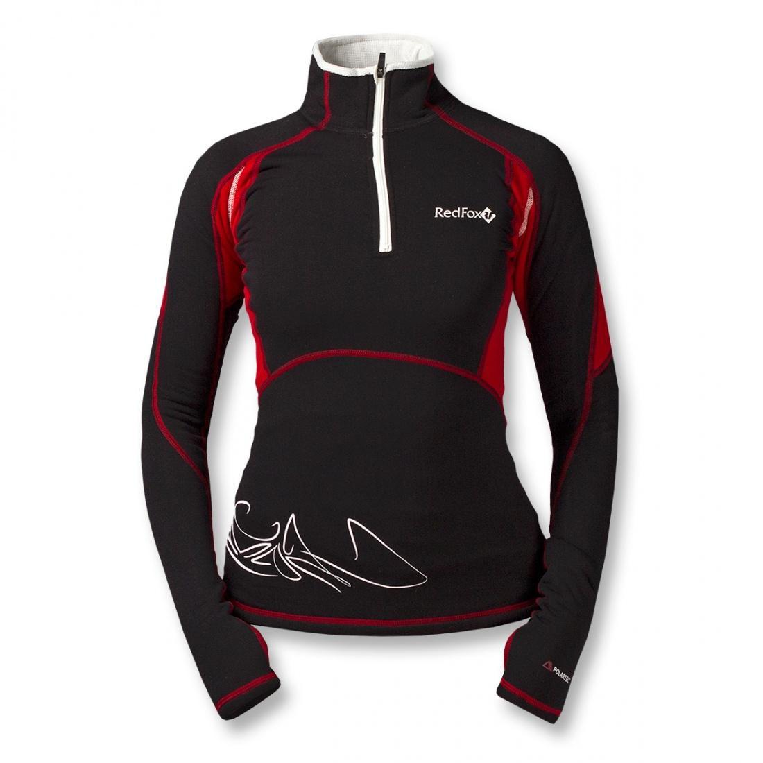 Термобелье пуловер Penguin Power Stretch WПуловеры<br>Женский пуловер. Предназначен для использования в качестве нижнего слоя в суровых погодных условиях.<br>Благодаря использованию материала Polartec® Power Stretch® ProТМ, пуловер не стесняет движений и создаёт благоприятный микроклимат для тела, прекрасно...<br><br>Цвет: Красный<br>Размер: 42