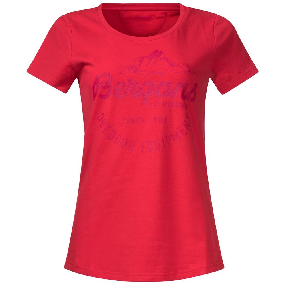 *Футболка Classic W TeeФутболки, поло<br>Женская футболка Bergans Classic Tee изготовлена из сочетания хлопка и эластана. Она мягкая и приятная на ощупь, хорошо садится по фигуре и не сковывает движений.<br><br>Характеристики футболки Bergans Classic Tee:<br><br>Материал: 95% хлопок, 5% эластан;<br>Б...