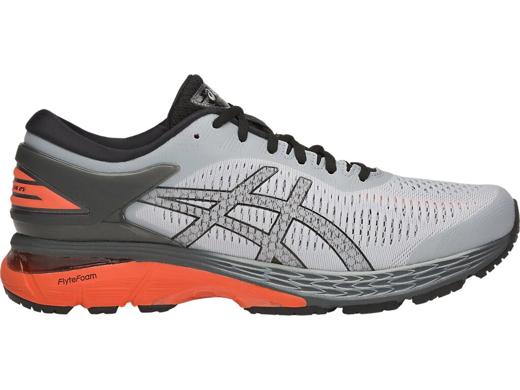 Фото - Кроссовки GEL-KAYANO 25 муж. от Asics Кроссовки GEL-KAYANO 25 муж. (11, MID GREY/RED SNAPPER, , , ,)