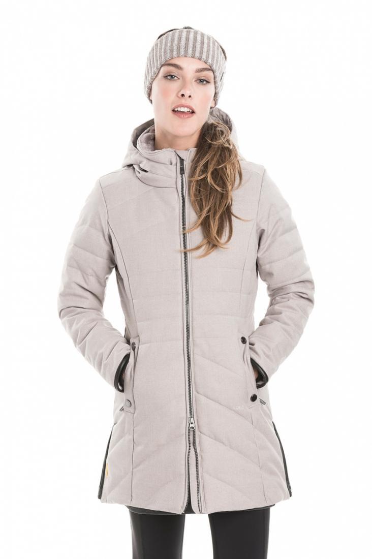 Куртка LUW0306 ZOA JACKETКуртки<br><br> Изящное утепленное пальто Zoa стеганного дизайна создано для ощущения полного комфорта в холодную погоду. Модель выполнена из влаго- и в...<br><br>Цвет: Серый<br>Размер: M