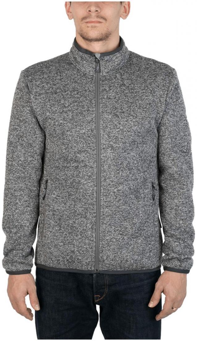Куртка Tweed III МужскаяКуртки<br><br> Теплая и стильная куртка для холодного временигода, выполненная из флисового материала с эффектом«sweater look». Отлично отводит влагу, сохраняет тепло,легкая и не громоздкая.<br><br><br> Основные характеристики<br><br><br>воротн...<br><br>Цвет: Серый<br>Размер: 56